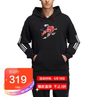 adidas 阿迪达斯 ADIDAS 男子 训练系列 CNY GFX  HS 运动 卫衣/套头衫 GP1839 L码