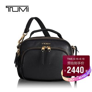 TUMI 途明 Voyageur系列 女士商务旅行高端时尚单肩/斜挎包 0196345D 黑色