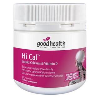 goodhealth 好健康 高钙液体钙+维生素D胶囊 150粒