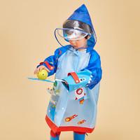 lemonkid 柠檬宝宝 儿童斗篷式雨衣
