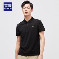 ROMON 罗蒙 S1T091105 男士商务短袖T恤