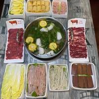 上海2店通用!有牛在鲜·潮汕牛肉火锅2-3人套餐