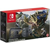 Nintendo 任天堂 日版/港版 Switch游戏主机 续航增强版 怪物猎人 崛起限定版