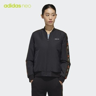 adidas 阿迪达斯 neo W FRM BMR JKT FP7855 女款运动棉服