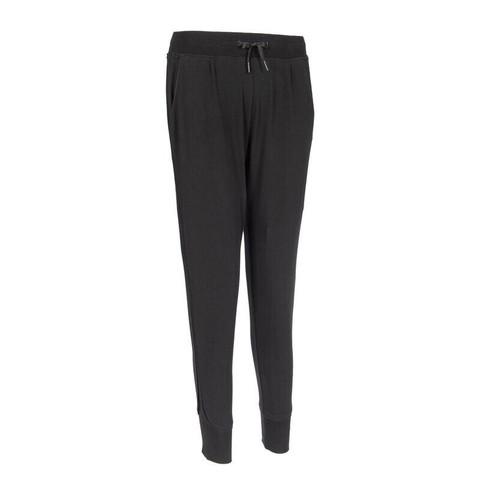 迪卡侬运动裤女秋季宽松大码健身跑步休闲束脚显瘦长裤子GYPWL4309452黑色155/62A/2XS