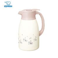 ZOJIRUSHI 象印 ZO JIRUSHI 保温壶不锈钢真空高颜值家用暖瓶热水壶开水瓶 SH-HK15C-PM