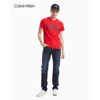 Calvin Klein 卡尔文·克莱 CK Jeans经典款男装直筒版中腰复古时尚休闲牛仔裤J313293 911-蓝色 30