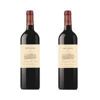 BARON EDMOND DE ROTHSCHILD 右岸干红葡萄酒 750ml*2瓶