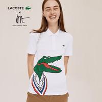 LACOSTE 拉科斯特 X Jean-Michel Tixier联名系列男女同款POLO衫|PH0410