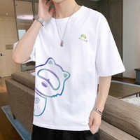 Im david 爱大卫 ZTVPTS246-B  男士T恤