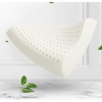 Dunlopillo 邓禄普 天然护颈乳胶波浪枕 自然