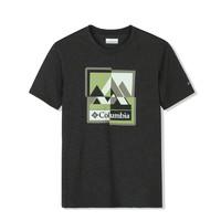 PLUS会员:Columbia 哥伦比亚 AE0408 011 男子户外T恤
