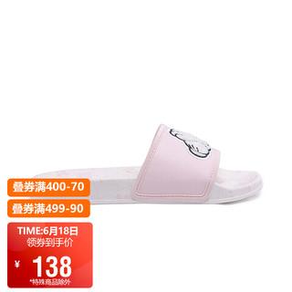 LI-NING 李宁 拖鞋女鞋潮流迪士尼米奇联名款LN Slipper透气干爽防滑运动休闲鞋AGAQ004