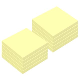 BAOKE 宝克 TZ1005 百事宝贴/便签条/便利贴/百事贴 (76*76mm)黄色10本装