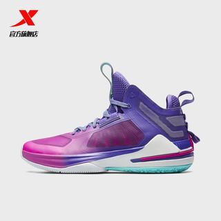 XTEP 特步 林书豪男篮球鞋透气鞋实战球鞋耐磨高帮运动