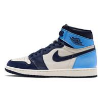 AIR JORDAN 1 RETRO HIGH OG 555088 北卡蓝 男子运动篮球鞋