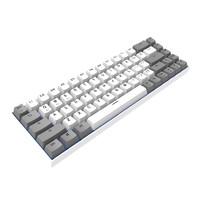 FL·ESPORTS 腹灵 F12 蓝牙/有线双模 机械键盘 68键(BOX轴、PBT、单色背光)
