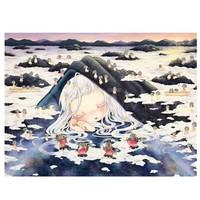 ARTMORN 墨斗鱼艺术 金田凉子限量签名版画《云海》130×110cm 版画 限量30版