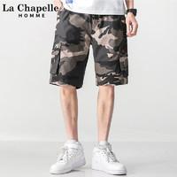 La Chapelle 拉夏贝尔 男士工装休闲裤