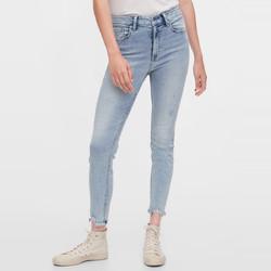 Gap 盖璞 女装浅色休闲弹力修身牛仔裤 夏季新款女士时尚潮流铅笔裤