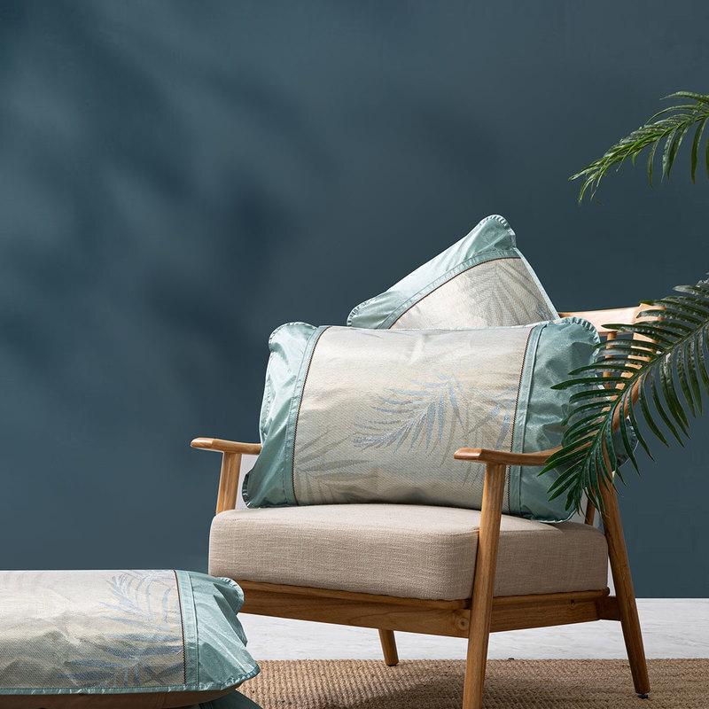 MERCURY 水星家纺 冰丝对枕套 一对  48*74cm
