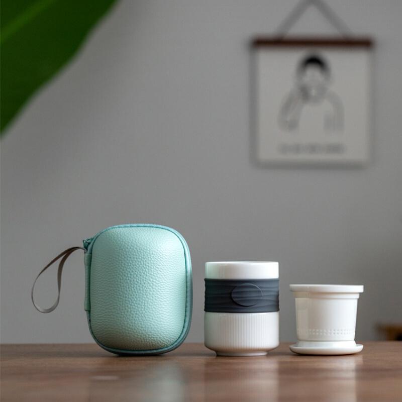SUYI 素以 白瓷防烫个人杯茶杯
