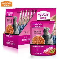 PLUS会员:Myfoodie 麦富迪 全阶段猫湿粮 85g*12袋
