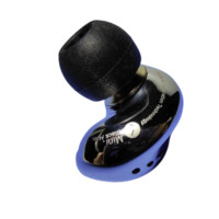 SHOZY 森韵 黑洞系列 Black Hole Mini 不锈钢精雕版 入耳式动圈监听耳机 亮银色