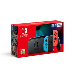 Nintendo 任天堂 Switch任天堂国行健身环大冒险主机套装 游戏机续航增强版主机NS