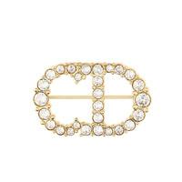 Dior 迪奥 V0362CDLCY_D301 优雅CD字母胸针
