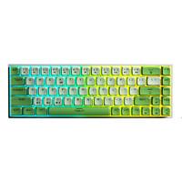 AULA 狼蛛 F3068 魔幻森林 热升华PBT双模蓝牙机械键盘