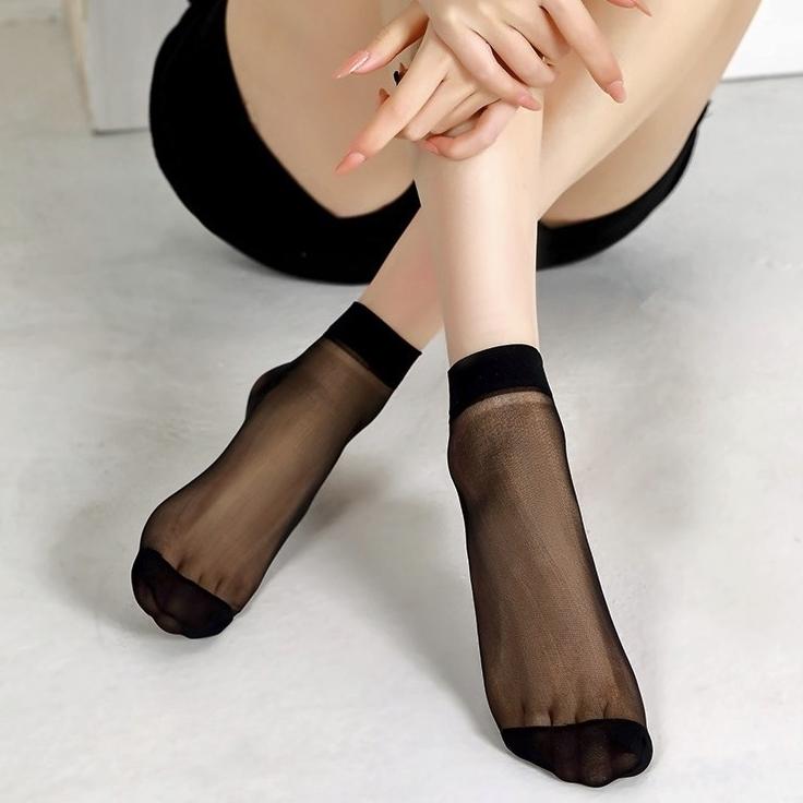 弗伊 女士丝袜短袜 8双