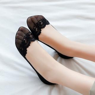 Miiow 猫人 女士蕾丝隐形袜 12双装