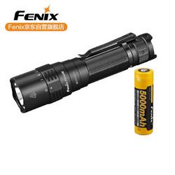 FENIX 菲尼克斯 Fenix 户外强光手电筒 旋转调光 type-c直充 PD40RV2.0黑色3000流明(标配含电池)