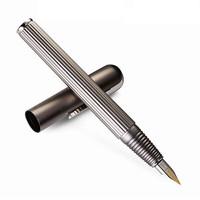 LAMY 凌美 imporium帝国 钢笔 钛金哑光银 14K金EF尖