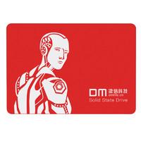 DM F550机械师红色系列 256GB 2.5寸SATA3.0接口 台式组装机笔记本电脑SSD固态硬盘