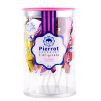 倍乐果 PIERROT 锥形棒棒糖  157g/桶