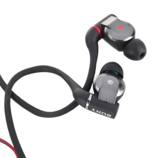SONY 索尼 XBA-A3 入耳式圈铁有线耳机 黑色 3.5mm