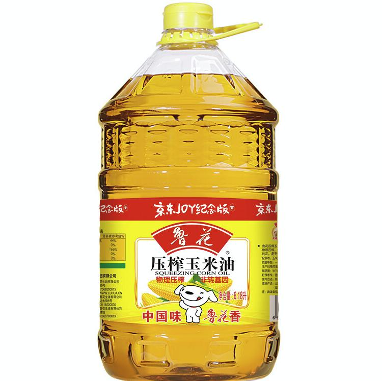 luhua 鲁花 食用玉米油 6.18L
