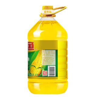 金龙鱼 非转基因 压榨纯正玉米油 4L