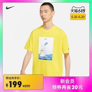 NIKE 耐克 Nike耐克官方SPORTSWEAR REISSUE男子T恤印花针新款夏季 DA0940