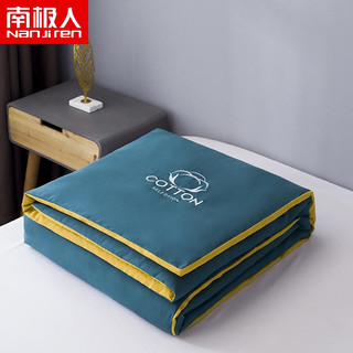 Nan ji ren 南极人 双拼刺绣夏凉被空调被 超柔棉被薄款羽丝绒被子