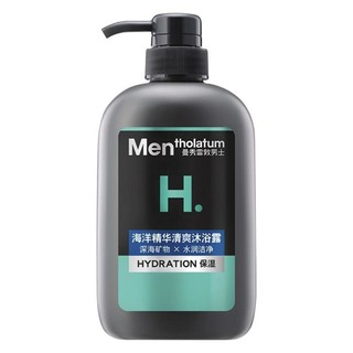 Mentholatum 曼秀雷敦 男士清爽沐浴露 海洋精华 500ml