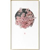仟象映画 江南芳《生生不息之八》40×70cm 新中式植物艺术装饰画