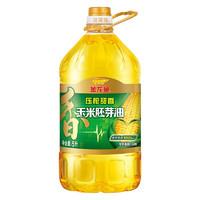 金龙鱼 非转基因 压榨玉米胚芽油 5L