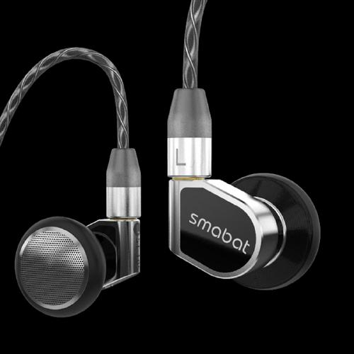 smabat Smabat-ST-10s 平头塞挂耳式有线耳机 黑色 3.5mm