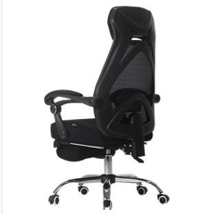 HBADA 黑白调 HDNY117-悠悦E 人体工学电脑椅 黑色升级版
