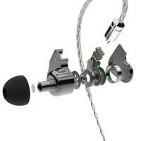 smabat X1 入耳式挂耳式有线耳机 灰色 3.5mm