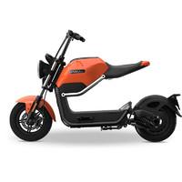 SUNRA 新日 米酷mikuMAX电动自行车电单助力车时尚60V20A MIKUMAX炫酷橙 mikuMAX橙色  预售
