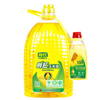 RONGS 融氏 非转基因 压榨玉米油 5L